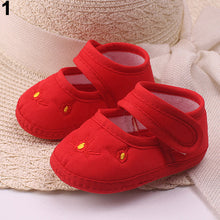 Load image into Gallery viewer, Lovely Baby Boy's Girl's Floral Embroidery Anti-Slip Sneaker Crib Soft Shoes - shopbabyitems