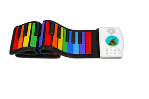 Hand roll piano 49 key folding piano - shopbabyitems
