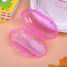 Load image into Gallery viewer, Finger Toothbrush Soft Silicone Safe Baby Kids Toothbrush Gum Brush with Box - shopbabyitems