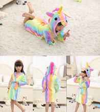 Load image into Gallery viewer, Adorable Fantasy Unicorn Robe for Kids - shopbabyitems