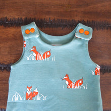 Load image into Gallery viewer, Unisex Cute Cartoon Fox Pattern Sleeveless Baby Summer Romper Jumpsuits - shopbabyitems