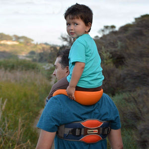 Toddler Hands-Free Shoulder Carrier with Cushioned Hip Seat - shopbabyitems