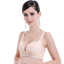 Load image into Gallery viewer, Pregnant Women Sexy Lace Anti-sagging Push Up Wireless Maternity Feeding Bra - shopbabyitems