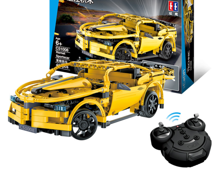 Double Eagle C51001 Horseman C51003 Bumblebee Remote Control Vehicle Compatible with Assembly Building Block Puzzle Toys - shopbabyitems