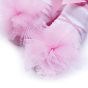 Baby Infant Girls Princess Ballet Design Lace Bowknot Breathable Socks Hosiery - shopbabyitems