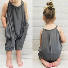Load image into Gallery viewer, Cute Suspenders Newborn Infant Baby Backless Sleeveless Romper Jumpsuit Gift - shopbabyitems