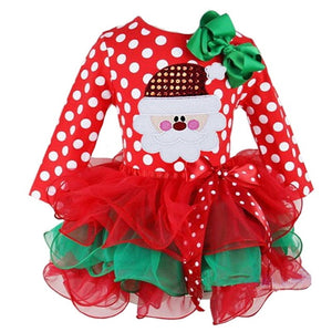New Year Baby Girl Christmas Dress Girl's Merry Christmas Dress - shopbabyitems