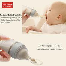 Load image into Gallery viewer, BabyCare Mambobaby Baby Silicone Squeeze Feeding Bottle - shopbabyitems