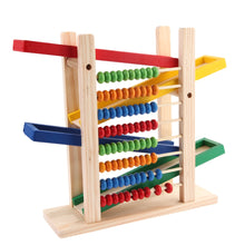 Load image into Gallery viewer, Baby Montessori Educational Wooden Toy Abacus Slippery Car Toys - shopbabyitems