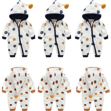 Load image into Gallery viewer, Autumn Winter Newborn Baby Infant Boy Girl Dot Long Sleeve Romper - shopbabyitems