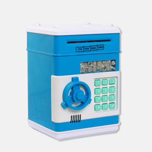 Safety Password Chewing Coin Cash Deposit Machine - shopbabyitems