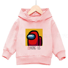 Load image into Gallery viewer, Among Us 3 To 14 Years Kids Hoodies Game Printed Hoodie Fashion Print Cotton Sweatshirt Boys Girls Pullover Children Clothing - shopbabyitems
