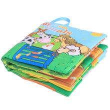 Load image into Gallery viewer, Animal Style Monkey/Owl/Dog Newborn Baby Toys Learning Educational Kids Cloth Books Cute Infant Baby Fabric Book - shopbabyitems