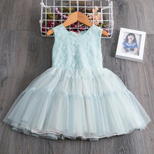 Load image into Gallery viewer, Cute Princess Toddler Girls Flower Embroidery Dresses Kids Party Ball Gown Clothing - shopbabyitems