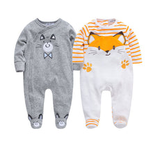 Load image into Gallery viewer, Autumn Winter Newborn Infant Baby Boy Rompers Long Sleeve Cotton Velvet Romper Kids - shopbabyitems