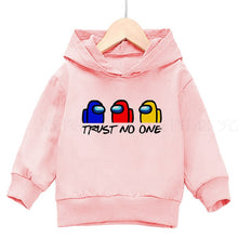Load image into Gallery viewer, Autumn among us kids cashmere claw casual hoodie pro juvenile sweatshirt girl's top anime violent game print clothing 4T-14T - shopbabyitems