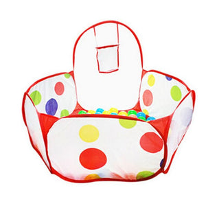Baby Play Pen - Polka Dot Esagonale Box - shopbabyitems