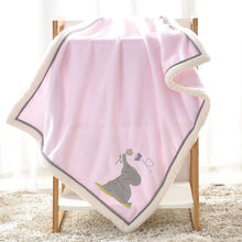Load image into Gallery viewer, Baby Blankets Newborn Swaddle Wrap Blanket Super Soft Infant Bebes Basket Stroller Bedding Covers - shopbabyitems