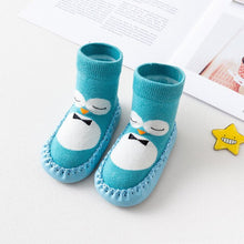 Load image into Gallery viewer, Baby Boy Girl Cartoon Cute Cartoon Penguin Shoe Toddler Shoes Socks Shoe Winter - shopbabyitems