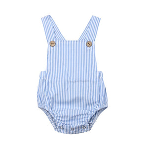 Baby Girl One-pieces Suspender Jumpsuits Cotton Clothes Outfits - shopbabyitems