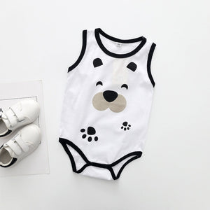 Baby Clothes Summer nan nv Baby Printed Triangle Romper Climbing Clothes Jumpsuit - shopbabyitems