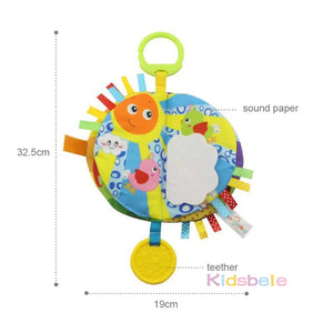 Baby Educational Toys Cloth Book Rustling Coloring Early Learning Toys - shopbabyitems
