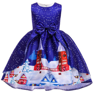 Baby Girl Clothes Kids Dresses for Girls Christmas Clothing Santa Claus Princess Dress New Year Party Children Cosplay Princess - shopbabyitems