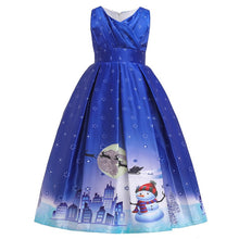 Load image into Gallery viewer, Baby Girl Clothes Kids Dresses for Girls Christmas Clothing Santa Claus Princess Dress New Year Party Children Cosplay Princess - shopbabyitems