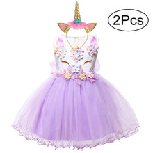 Load image into Gallery viewer, Baby Girls Unicorn Dress For Baby Girl Clothes Costume Kids - shopbabyitems