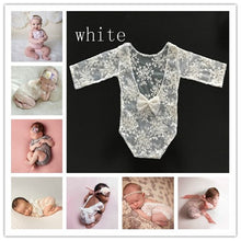 Load image into Gallery viewer, Baby Newborn Riding Suit Girl With Bow Clothing Kids Photography Props - shopbabyitems