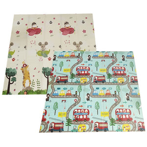 Baby Play Mat Waterproof XPE Soft Floor Playmat Foldable Crawling Carpet - shopbabyitems