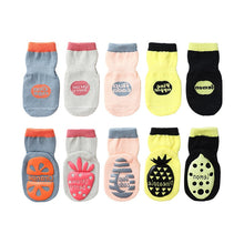 Load image into Gallery viewer, Baby Socks Newborn Floor Socks Children's Fruit Dispensing Non-slip Toddler Socks Boys and Girls Socks - shopbabyitems