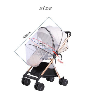 Baby Stroller Mosquito Insect Net Accessories Safe Mesh Buggy Crib Netting Cart Mosquito Net - shopbabyitems