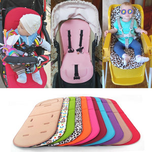 Baby Stroller Seat Cushion Kids Pushchair Car Cart High Chair Seat Trolley Soft Mattress - shopbabyitems
