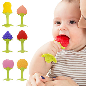 Baby Teether Infant Kids Chew Tooth Toys Baby Dental Care Strengthening Tooth - shopbabyitems