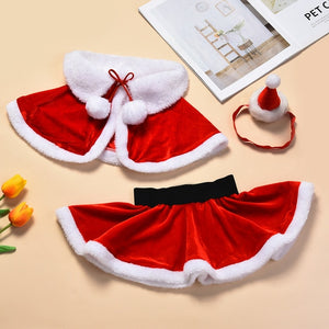 Baby Toddler Girls Christmas Costume Clothing Sets One Size Suit for 0-24M Little Kid Girls Santa Cosplay Wear christmas  2020 - shopbabyitems