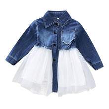 Load image into Gallery viewer, Baby Toddler Girls Tutu Dress long Sleeves Baby Girls' 1st Birthday Tutu Dress Easter Outfit Baby Girls Spring Dresses D30 - shopbabyitems