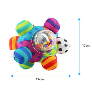 Baby Toys Fun Little Loud Bell Baby Ball Rattles Toy Develop Baby Intelligence Grasping - shopbabyitems