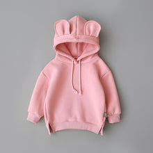 Load image into Gallery viewer, Baby coat Toddler Baby Kids Boy Girl clothes Hooded Cartoon 3D Ear Hoodie Sweatshirt Tops - shopbabyitems