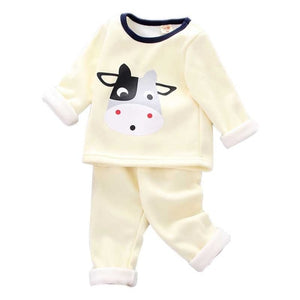 Baby girl clothes two-piece cotton suit clothes baby girl clothes - shopbabyitems