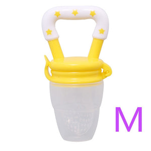 Baby nipple Fresh Food Nibbler Baby Pacifiers Feeder Kids Fruit - shopbabyitems