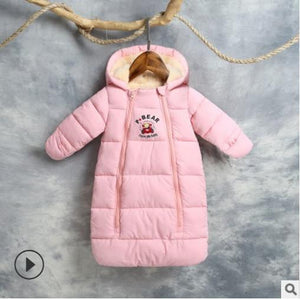 Baby sleeping bag winter Thick Warm Newborns sleeping bag kids toddler sleeping bag - shopbabyitems