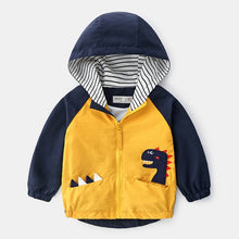Load image into Gallery viewer, Boys Spring Autumn Coats Kids Jackets Toddler Hooded Windbreaker With Pocket - shopbabyitems