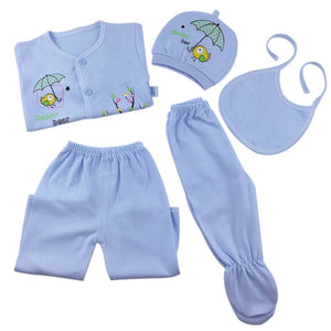 Brand 5pcs/set enfant Newborn sets baby Boys suits Baby Clothes Cotton - shopbabyitems