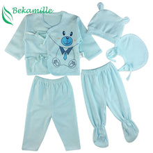 Load image into Gallery viewer, Brand 5pcs/set enfant Newborn sets baby Boys suits Baby Clothes Cotton - shopbabyitems