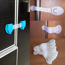 Load image into Gallery viewer, 10Pcs/Lot Child Lock Protection Of Children Locking Doors - shopbabyitems