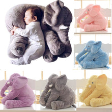 Load image into Gallery viewer, Cartoon Big Size Plush Elephant Toy Kids Sleeping Back Cushion - shopbabyitems