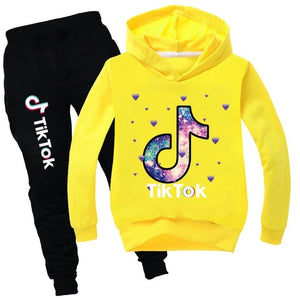 Casual Kids Clothes 2 Piece Set Clothing Cool Boy Girls Hoodie+ Pants 2Pcs/Set Boys Tracksuit Children Baby Clothes 2-16 - shopbabyitems