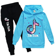 Load image into Gallery viewer, Casual Kids Clothes 2 Piece Set Clothing Cool Boy Girls Hoodie+ Pants 2Pcs/Set Boys Tracksuit Children Baby Clothes 2-16 - shopbabyitems