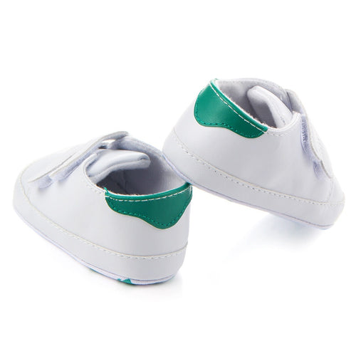 Casual Simple Pu Soft Shoes White Shoes Newborn Baby Boy Girl First Walker Autumn Soft Soles Sports Sneakers Chic - shopbabyitems